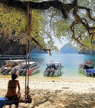 ทะเลฝั่งอันดามันสวยกว่าฝั่งอ่าวไทย